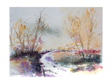 Watercolor 010707 Giclee Print by Ledent
