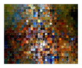 Tile Art 1 Photographic Print by Mark Lawrence
