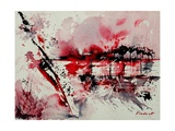 Watercolor Abstract 545 Giclee Print by Ledent