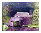 Old Mill Photographic Print by M Moon