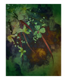 Cascade Giclee Print by Shelley Xie