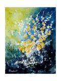 Watercolor John's Flowers Pôsters por  Ledent