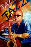 Jazz Man Prints by Diane Millsap