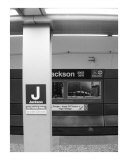 Jackson El Stop Photographic Print by Jason Wolf