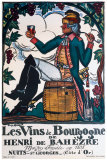 Vins de Bourgogne Giclee Print by Guy Arnoux