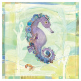 Playful Seahorse Posters by Robbin Rawlings