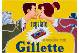 Gillette un Magnifico Rasoio Giclee Print