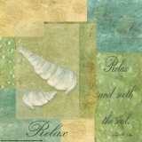 Under the Sea Spa, Relax Print by Grace Pullen
