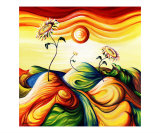 Sunflower Serenity Giclee Print by Timothy Sorsdahl