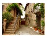 Tuscany Stairways Photographic Print by Donna Corless