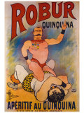 Robur Quinquina Giclee Print by Albert Guillaume