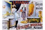 Lavabos Modernes Giclee Print by A. Toubras