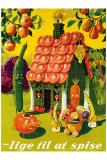 Lige Til at Spise Giclee Print by  Vonsild