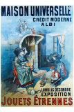 Maison Universelle Giclee Print by B. Kaufmann