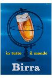 In Tutto il Mondo Birra Giclee Print by E. Arvati