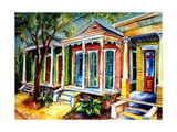 New Orleans, Plain & Fancy Giclee Print by Diane Millsap