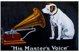 His Master&#39;s Voice Gicl&#233;e-Druck