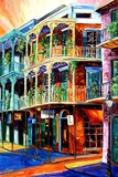Early Morning on Royal Street Giclee Print by Diane Millsap