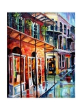 New Orleans Rainy Day Giclee Print by Diane Millsap