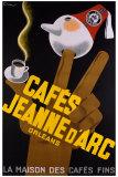 Cafes Jeanne d'Arc Giclee Print