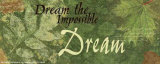 Words to Live By: Dream Print by Marilu Windvand