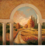 Tuscan Archway Print by Jill Schultz McGannon