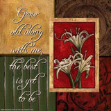 Spice Four Patch: Grow Old with Me Poster by Debbie DeWitt