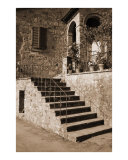 Broom on the Stairs Photographic Print by Donna Corless