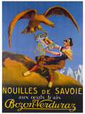 Nouilles de Svoie Reproduction proc&#233;d&#233; gicl&#233;e par E.l. Cousyn