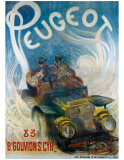 Peugeot Giclee Print by G. De Burggrill
