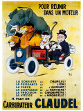 Carburateur Claudel Giclee Print by  Mich (Michel Liebeaux)