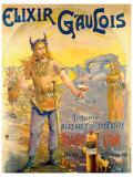 Elixir Gaulois Giclee Print by Geo Blott