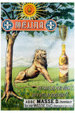 Liqueur Melina Giclee Print by Leon Carre