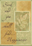 Words to Live By: Seek and You Shall Find Posters by Marilu Windvand