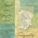 Under the Sea Spa, Tranquility Print by Grace Pullen
