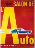 54e Salon de l'Automobile Giclee Print by Pierre Fix-Masseau