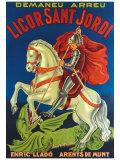 Licor Sant Jordi Giclee Print