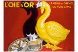 Leonetto Cappiello - L'Oie d'Or Digitálně vytištěná reprodukce
