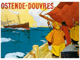 Ostende Douvres Giclee Print by H. Lassié
