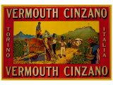 Vermouth Cinzano Gicléetryck