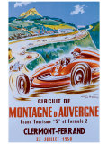 Montagne d'Auvergne Giclee Print by Geo Ham