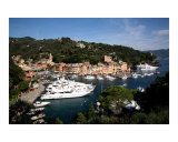 Harbor of Portofino Photographic Print by Donna Corless