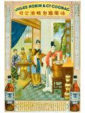 Cognac Robin Giclee Print