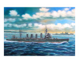 Japanese Light Cruiser Giclee Print by jack connelly
