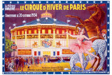 Le Cirque d'Hiver de Paris Giclee Print