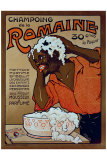 Champoing la Romaine Lámina giclée por F. Xardes