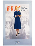 BOAC Giclee Print