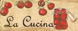 La Cucina, Tomatoes Kunstdrucke von Debbie DeWitt