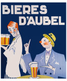 Bieres d'Aubel Giclee Print by Odette Servais