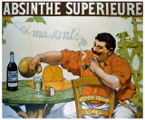 Absinthe Superieur Giclee Print by Victor Leydet